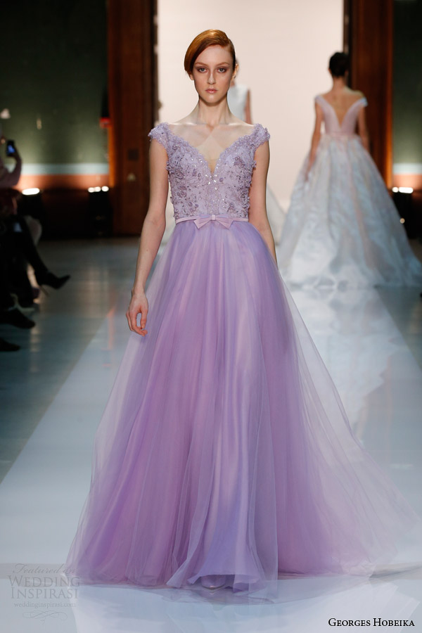 georges-hobeika-couture-spring-2014-pale-purple-lilac-gown-cap-sleeves-gown