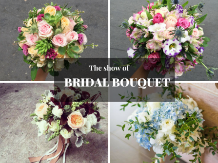 The show of Bridal Bouquet