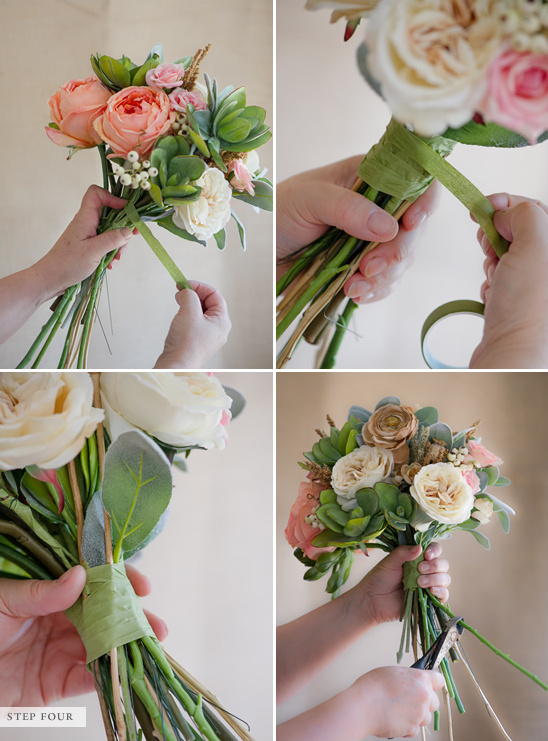 Small Artificial Flower Arrangements Diy