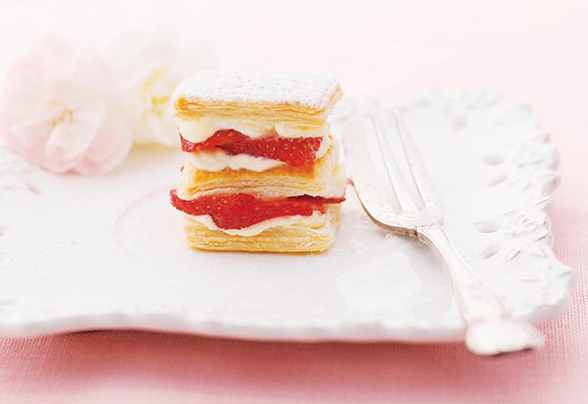 bánh ngọt Pháp Mille-Feuille