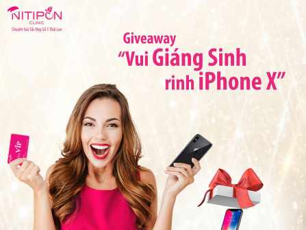 Giveway - Rinh Iphone X