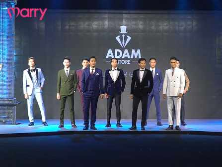 "Hóa nam thần trong BST vest cưới ""Style your grooms"" của Adam Store"