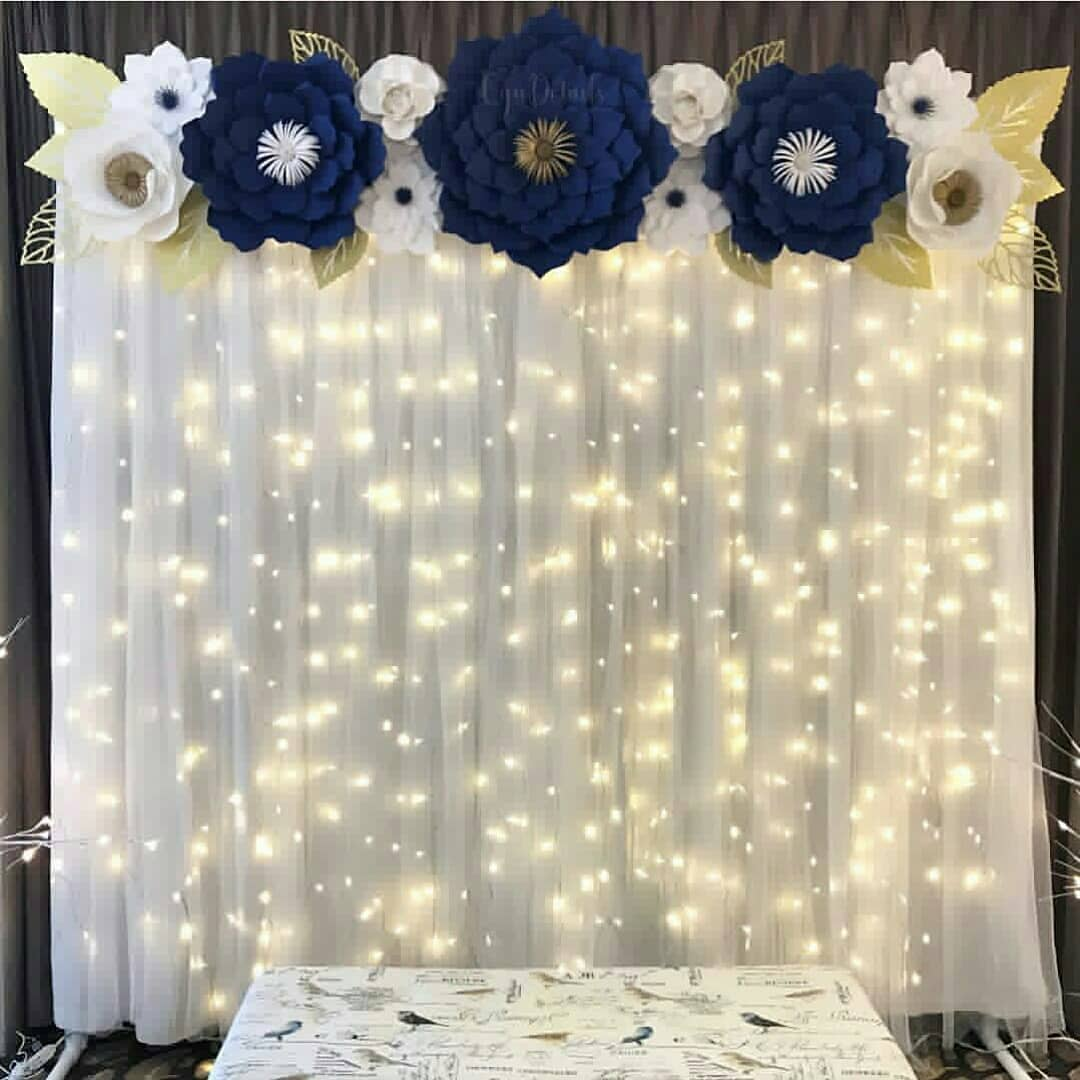 backdrop hoa handmade