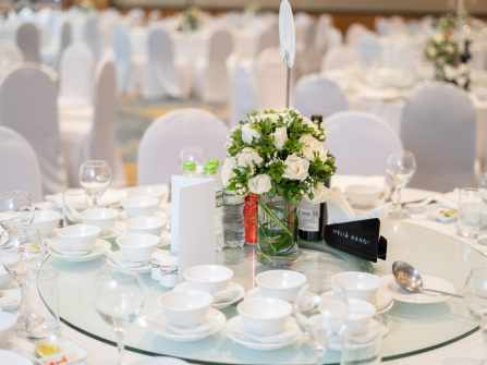Color your wedding at Melia Hanoi