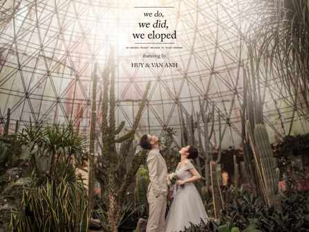 [ H&A ] We do, we did, we eloped ~ by Kyahz Wedding.
