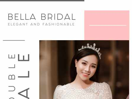 BELLA BRIDAL DOUBLE SALE